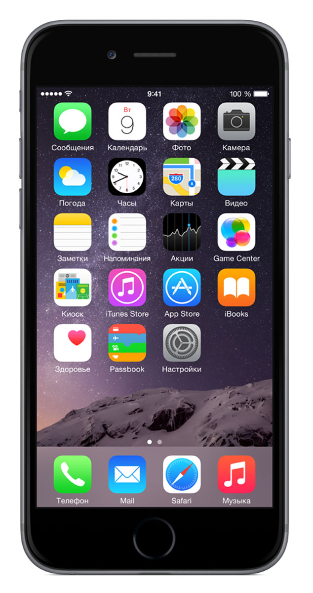 Apple iPhone 6 32GB, Space Grey - Смартфоны