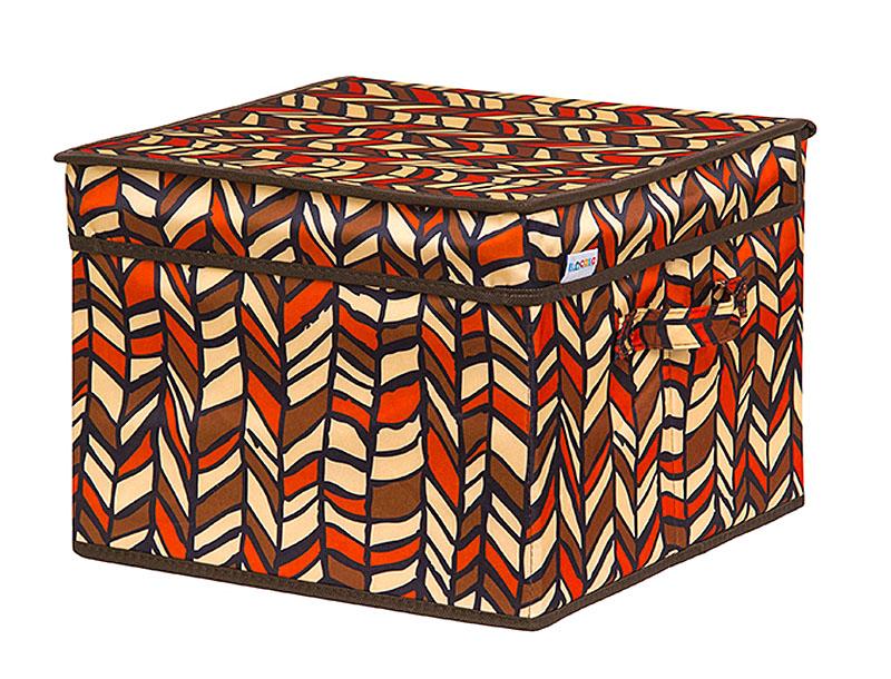 Кофр для хранения вещей EL Casa Африка, складной, 32 х 32 х 24 см840335Кофр для хранения представляет собой закрывающуюся крышкой коробку жесткой конструкции, благодаря наличию внутри плотных листов картона. Специально предназначен для защиты Вашей одежды от воздействия негативных внешних факторов: влаги и сырости, моли, выгорания, грязи. Благодаря оригинальному дизайну кофр будет гармонично смотреться в любом интерьере.