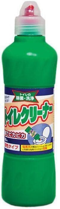 """Средство кислотного типа """"Mitsuei"""" великолепно удаляет   ржавчину под ободком унитаза. Дезинфицирует, очищает,   устраняет неприятный запах. Концентрированная жидкость,   благодаря соляной кислоте, моментально растворит любые   загрязнения, оставит сверкающую чистоту и приятный аромат   свежести.  Товар сертифицирован.      Как выбрать качественную бытовую химию, безопасную для природы и людей. Статья OZON Гид"""