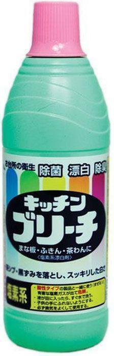 Универсальное моющее средство для кухни Mitsuei, 0.6 л40023Это средство станет незаменим помощником в поддержании чистоты на кухне. Прекрасно отбеливает кухонные полотенца и салфетки. Дезинфицирует кухонные поверхности, разделочные доски. Средство прекрасно очищает, отбеливает, дезинфицирует кружки и ложки. Отбеливатель устранит неприятные запахи и предотвратит размножение микробов.