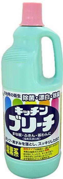 Средство для кухни Mitsuei, 1,5 л40030Средство Mitsuei станет незаменим помощником в поддержании чистоты на кухне. Прекрасно отбеливает кухонные полотенца и салфетки. Дезинфицирует кухонные поверхности, разделочные доски. Средство прекрасно очищает, отбеливает, дезинфицирует кружки и ложки. Отбеливатель устранит неприятные запахи и предотвратит размножение микробов.Состав: 6% хлорит натрия (хлор), гидроксид натрия, щелочь.Товар сертифицирован.Как выбрать качественную бытовую химию, безопасную для природы и людей. Статья OZON Гид
