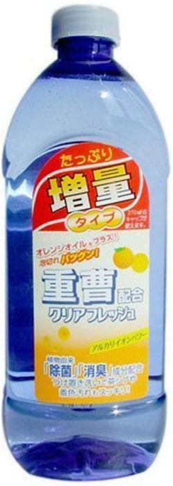 Средство для мытья посуды, овощей и фруктов Mitsuei, концентрированное, аромат апельсина, 450 мл. 4044340443Высокоэффективное концентрированное средство Mitsuei предназначено для мытья посуды, овощей и фруктов. Новая формула делает средство невероятно экономичным - для отмывания самых трудновыводимых загрязнений хватает всего одной капли. Быстро устраняет остатки пищи, засохший жир. Легко пенится и легко смывается. Ухаживает за кожей рук, не раздражая ее, так как состоит из моющих компонентов растительного происхождения.Товар сертифицирован.