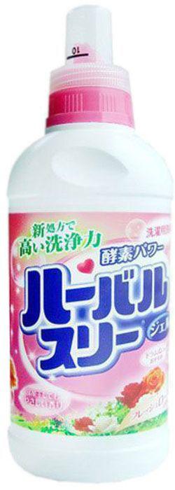 Гель для стирки Mitsuei, с ароматом роз, 450 мл60649Гель Mitsuei прекрасно отстирывает любые загрязнения, при этом очень бережно относится к ткани. Подходит для хлопка, льна, синтетического волокна. Гель легко и быстро растворяется в небольшом количестве воды, не образует осадка. Проникая в глубь волокон, средство расщепляет загрязнения, оставляя ваши вещи идеально чистыми. Не содержит флюоресцентных добавок и красителей. Так же гель обеспечит вашей одежде чувственный аромат розы.Товар сертифицирован.