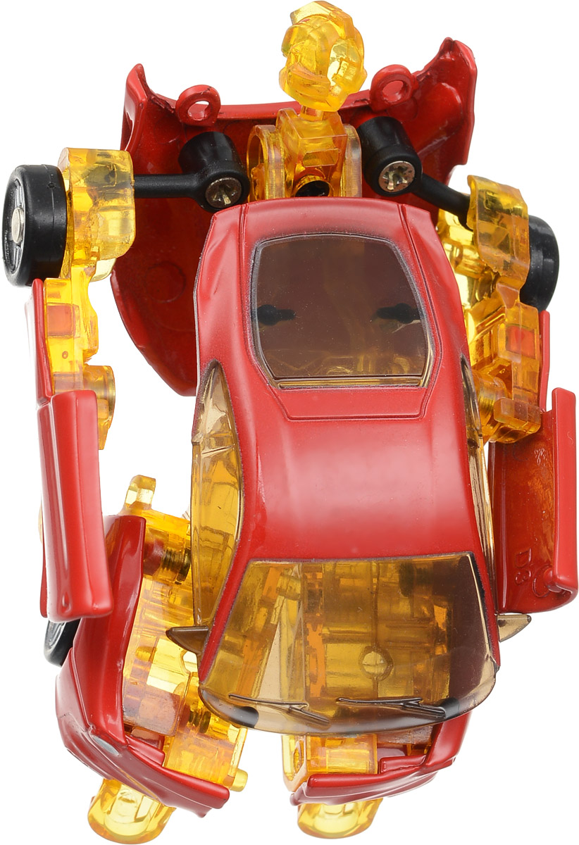 Yako Робот трансформер цвет красный желтый