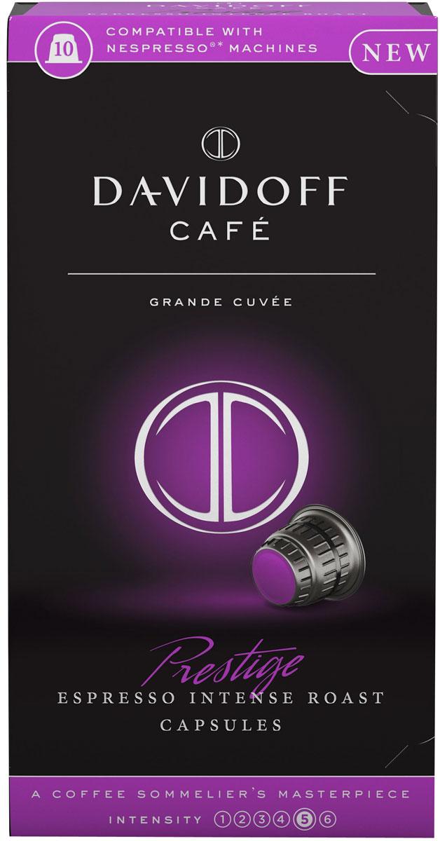 Davidoff Cafe Prestige Espresso кофе в капсулах, 10 шт кофе tchibo кофе в капсулах espresso elegant