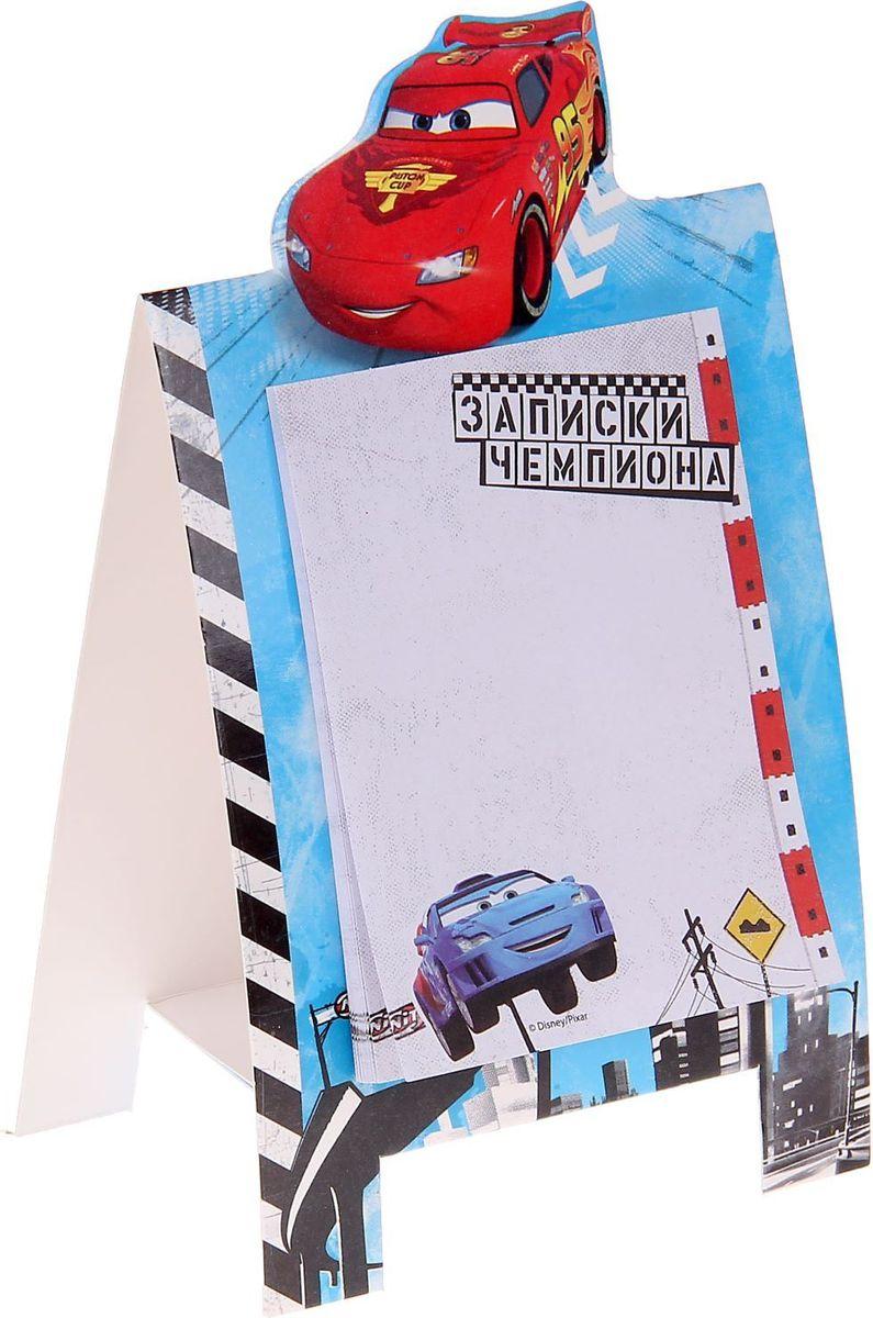 Disney Блок для записей Записки чемпиона Тачки 30 листов disney гирлянда детская на ленте тачки с днем рождения