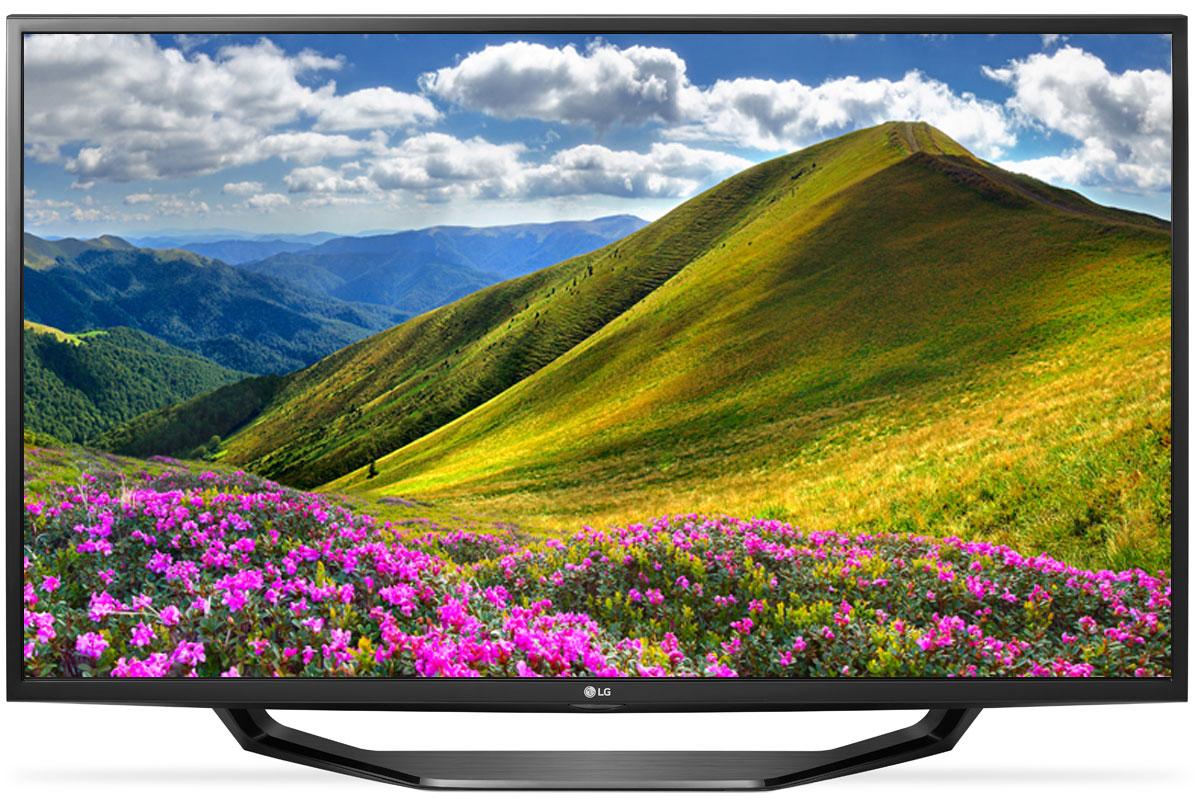 LG 49LJ515V телевизор90000003915С LG 49LJ515V вы можете воспроизводить фильмы, музыку и фото максимально удобным способом - прямо с USB-флэшки или жесткого диска.Телевизор оснащен портами HDMI - для максимального качества звука и картинки. HDMI - это мультимедийный интерфейс высокой четкости. Единый стандарт HDMI позволяет получать новому телевизору LG максимально четкий аудио и видеосигнал.По-новому глубокие и насыщенные цвета. Помимо улучшения цветопередачи, уникальные технологии обработки изображения отвечают за регулировку тона, насыщенности и яркости.Революционное качество изображения и цвета. Разрешение Full HD 1080p отвечает стандартам высокой четкости, отображая на экране 1080 (прогрессивных) линий разрешения, для более четкого и детального изображения.Улучшить изображение? Запросто! При использовании механизма масштабирования разрешения Resolution Upscaler изображения любого качества выглядят существенно лучше.Virtual Surround - звук, меняющий реальность. Функция Virtual Surround создает реалистичный, объемный звук. Вы словно переноситесь в новую реальность, где ярко ощущаются все биты и полутона.Встроенные игры для яркого отдыха. С LG 49LJ515V вам доступно максимум развлечений. Больше бесплатных игр для вашего нового телевизора - на официальном сайте LG.