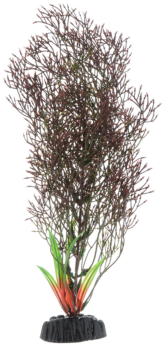 Растение для аквариума Barbus Горгонария, пластиковое, цвет: коричневый, высота 30 смPlant 030/30Растение Barbus Горгонария, выполненное из качественного пластика, станет оригинальным украшением вашего аквариума. Пластиковое растение идеально подходит для дизайна всех видов аквариумов. Оно абсолютно безопасно, нейтрально к водному балансу, устойчиво к истиранию краски, подходит как для пресноводного, так и для морского аквариума. Растение Barbus поможет вам смоделировать потрясающий пейзаж на дне вашего аквариума или террариума. Высота растения: 30 см.