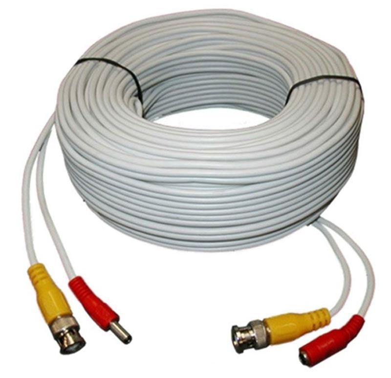 IVUE CPV40-AHD, White кабель для системы видеонаблюдения, 40 мCPV40-AHD_белыйIVUE CPV40-AHD - это надежный коаксиальный кабель для систем видеонаблюдения, по которому производится питание, а также передача видео-сигнала для камер AHD.