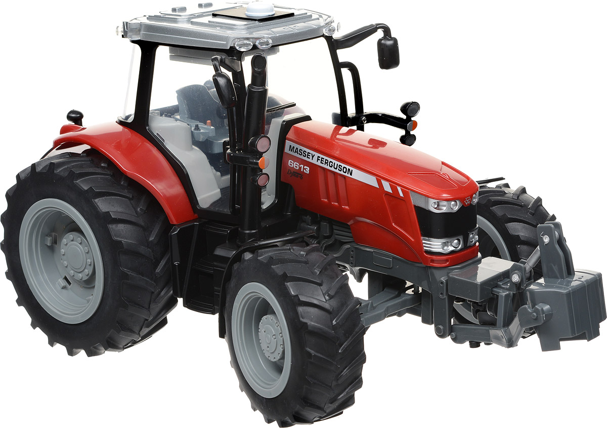Tomy Трактор Massey Ferguson 6613 tomy трактор john deere 6830 с двойными колесами и фронтальным погрузчиком с 3 лет