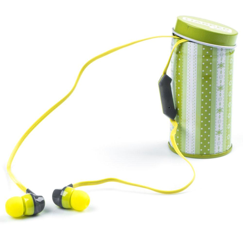 Harper Kids HK-42, Yellow наушники00-00001202Наушники-вкладыши Harper Kids HK-42 отлично передают звук не только во время прослушивания музыки, но и при разговоре по телефону (встроенный микрофон позволяет использовать Harper Kids HK-42 в качестве телефонной гарнитуры).Наушники поставляются в пяти сочных цветовых решения, среди которых не только универсальные черный и белый, но и яркие зеленый, желтый, фиолетовый, розовый и голубой.Футляр, который поставляется в комплекте с наушниками, имеет гармонирующую с ними расцветку и оригинальный рисунок, что превращает его в стильный аксессуар. При этом наушники, которые хранятся в футляре, меньше пылятся, реже ломаются и гораздо дольше служат.Все органы управления наушниками сконцентрированы в одной кнопке на проводе. При помощи специальной комбинации нажатий, указанной в инструкции к наушникам, вы сможете принимать/завершать входящие вызовы (функция телефонной гарнитуры), переключать треки, запускать и ставить на паузу музыку, перематывать треки вперед и назад.