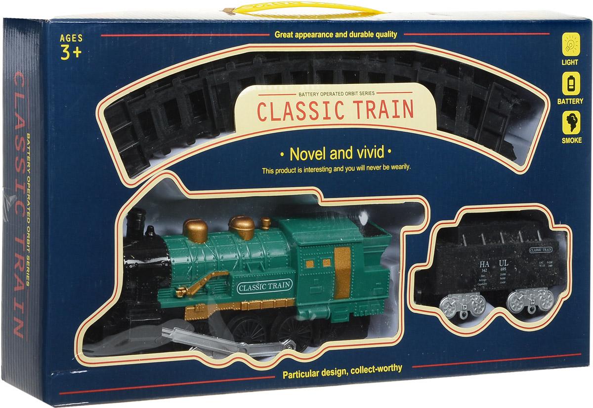 Yako Железная дорога Классический поезд цвет локомотива зеленый
