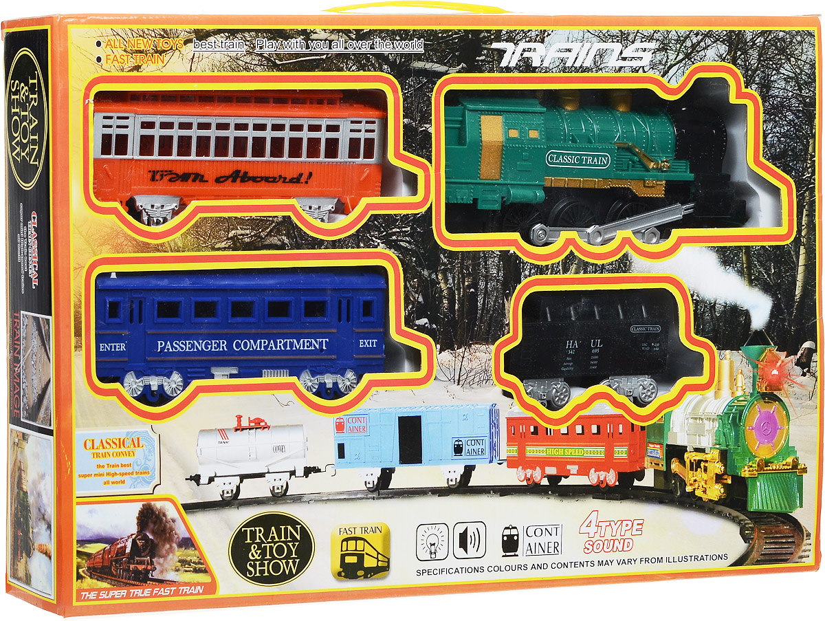 Yako Железная дорога Останови крушение цвет локомотива зеленый