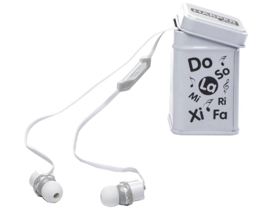Harper Kids HK-66, White наушники00-00001207Наушники-вкладыши Harper Kids HK-66 перекрывают весь спектр слышимых человеческим ухом звуковых частот (они работают в диапазоне от 17 до 21 000 Гц). Это позволяет наслаждаться любимой музыкой даже тем, кто предъявляет повышенные требования к качеству звука.Встроенный микрофон превращает наушники Harper HK-66 в телефонную гарнитуру - ответ на звонок или завершение вызова производится при помощи кнопки на проводе наушников.Твердый футляр прямоугольной формы поставляется в комплекте с наушниками. В нем они не подвергаются негативному воздействию окружающей среды (не пылятся, не намокают, не запутываются в других вещах, как это бывает при переноске в сумочке или кармане).Яркие цветовые решения наушников и футляров делают этот аксессуар стильным и оригинальным дополнением к любой одежде, причем носить их могут как взрослые, так и дети.Одна единственная кнопка, которой оснащены наушники, выполняет сразу несколько функций: позволяет принимать/завершать звонки, перематывать и переключать треки, воспроизводить музыку, ставить трек на паузу.