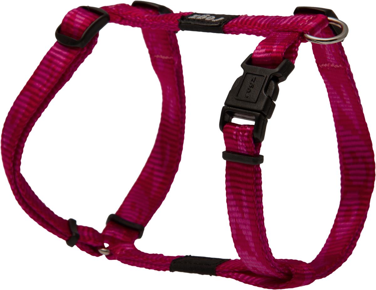 Шлейка для собак Rogz Alpinist, цвет: розовый, ширина 1,1 см. Размер SSJ21KОсобо мягкая, но очень прочная шлейка для собак Rogz Alpinist обеспечит безопасность на прогулке даже самым активным собакам.Все соединения деталей имеют специальную дополнительную строчку для большей прочности.Специальная конструкция пряжки Rog Loc - очень крепкая (система Fort Knox). Замок может быть расстегнут только рукой человека. Технология распределения нагрузки позволяет снизить нагрузку на пряжки, изготовленные из титанового пластика, с помощью правильного и разумного расположения грузовых колец, благодаря чему, даже при самых сильных рывках, изделие не рвется и не деформируется.Выполненные специально по заказу Rogz литые кольца гальванически хромированы, что позволяет избежать коррозии и потускнения изделия.