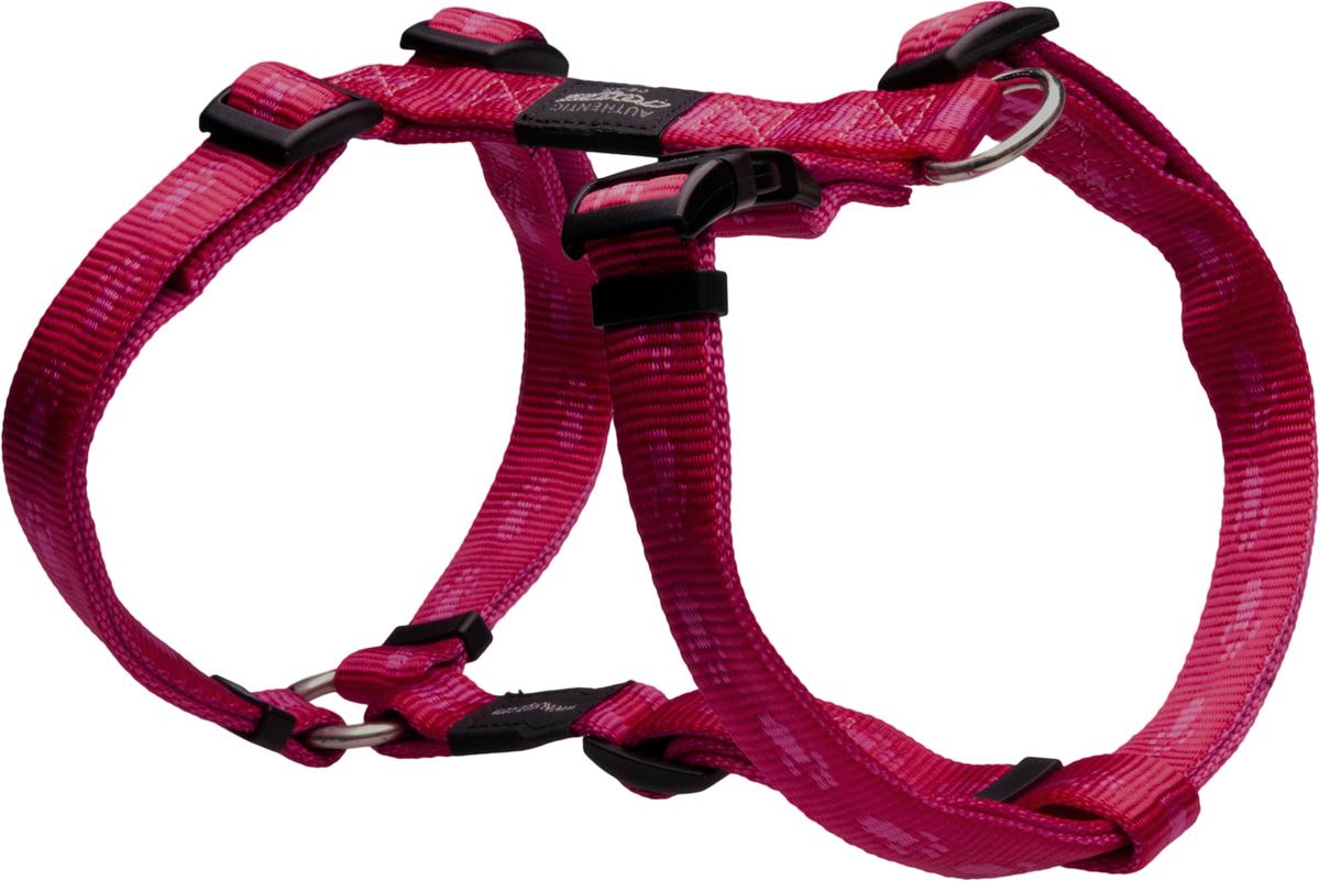 Шлейка для собак Rogz Alpinist, цвет: розовый, ширина 2 см. Размер LSJ25KОсобо мягкая, но очень прочная шлейка для собак Rogz Alpinist обеспечит безопасность на прогулке даже самым активным собакам.Все соединения деталей имеют специальную дополнительную строчку для большей прочности.Специальная конструкция пряжки Rog Loc - очень крепкая (система Fort Knox). Замок может быть расстегнут только рукой человека. Технология распределения нагрузки позволяет снизить нагрузку на пряжки, изготовленные из титанового пластика, с помощью правильного и разумного расположения грузовых колец, благодаря чему, даже при самых сильных рывках, изделие не рвется и не деформируется.Выполненные специально по заказу Rogz литые кольца гальванически хромированы, что позволяет избежать коррозии и потускнения изделия.