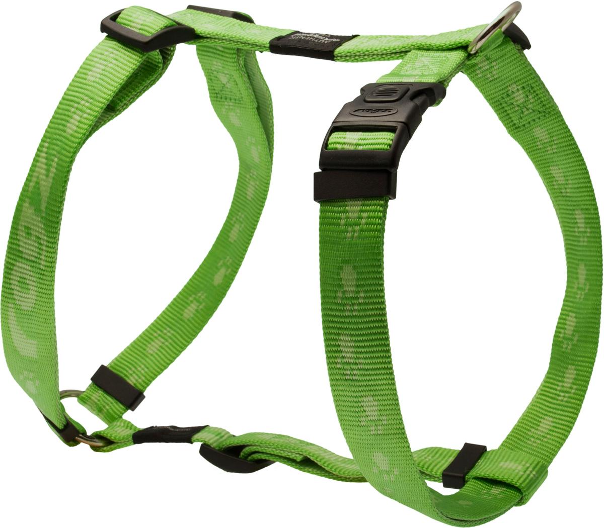 Шлейка для собак Rogz Alpinist, цвет: зеленый, ширина 2,5 см. Размер XLSJ27GОсобо мягкая, но очень прочная шлейка для собак Rogz Alpinist обеспечит безопасность на прогулке даже самым активным собакам.Все соединения деталей имеют специальную дополнительную строчку для большей прочности.Специальная конструкция пряжки Rog Loc - очень крепкая (система Fort Knox). Замок может быть расстегнут только рукой человека. Технология распределения нагрузки позволяет снизить нагрузку на пряжки, изготовленные из титанового пластика, с помощью правильного и разумного расположения грузовых колец, благодаря чему, даже при самых сильных рывках, изделие не рвется и не деформируется.Выполненные специально по заказу Rogz литые кольца гальванически хромированы, что позволяет избежать коррозии и потускнения изделия.