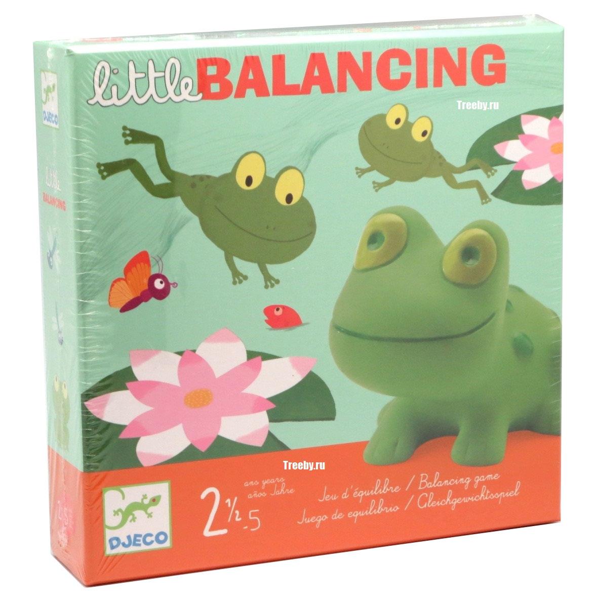Djeco Обучающая игра Лягушачий балансир