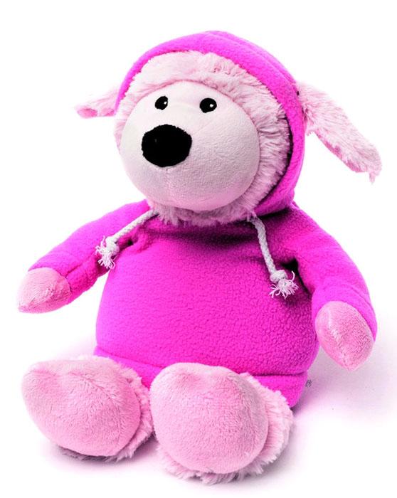 Warmies Мягкая игрушка-грелка Овечка в худи цвет розовый