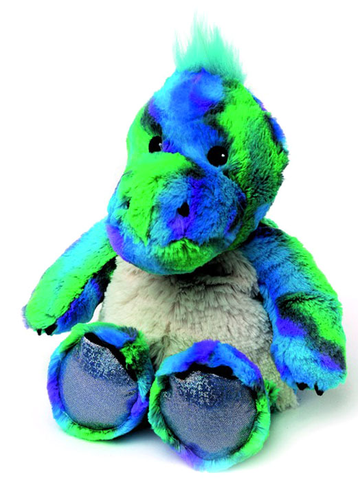 Warmies Мягкая игрушка-грелка Блестящий динозавр - Мягкие игрушки