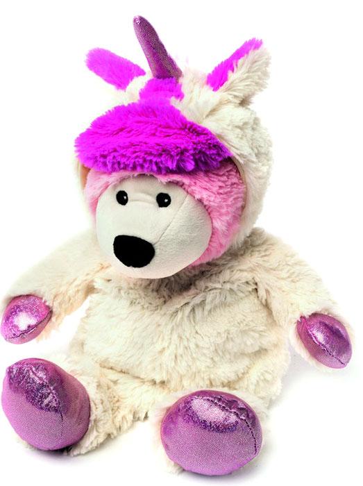 Warmies Мягкая игрушка-грелка Унси цвет кремовый