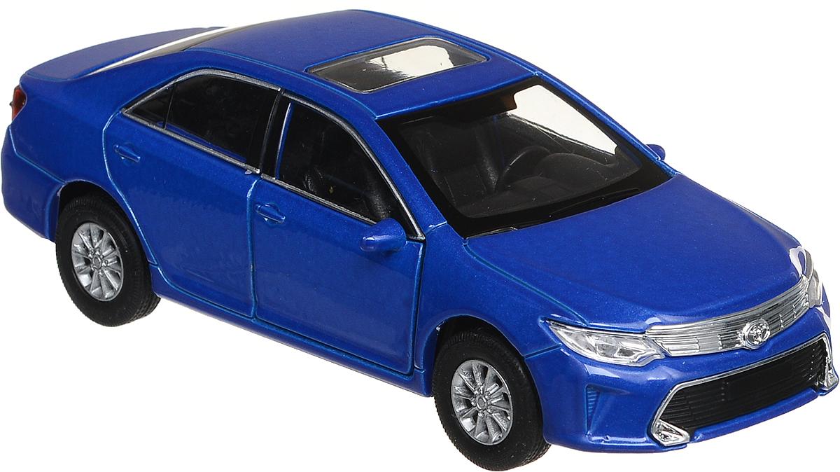 Welly Модель автомобиля Toyota Camry цвет синий welly модель автомобиля audi q7 цвет серый