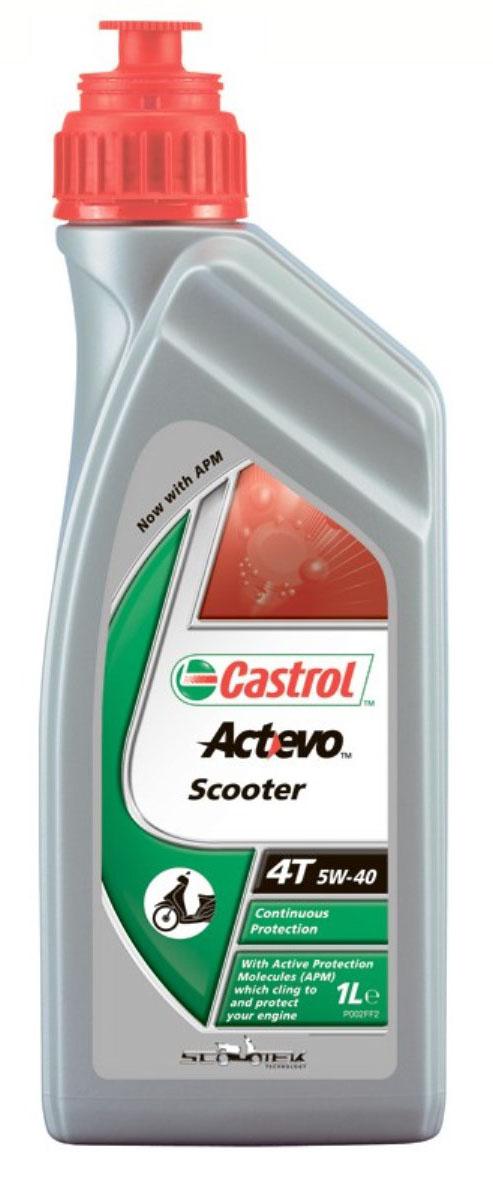 Моторное масло Castrol Act Evo Scooter 4T 5W-40 синтетическое, 1 л151A76Castrol Act>Evo Scooter 4T 5W-40 с технологией Scootek Technology иуникальными частицами Active Protection Molecules— это новейшее полностью синтетическое моторное масло сотличными смазывающими свойствами, специально разработанное для современных 4-тактных двигателей скутеров савтоматической трансмиссией. Предназначено для увеличения эффективности работы двигателя засчёт минимизации внутреннего трения иподавления образования высокотемпературных отложений. Вновом моторном масле Castrol Act>Evo Scooter4T используются частицы Active Protection Molecules, гарантирующие исключительно эффективную защиту отизноса.Castrol Act>Evo Scooter 4T 5W-40 создано сприменением уникальной технологии Scootek Technology, помогающей увеличить эффективность работы двигателя изащитить критически важные детали двигателя привысоких рабочих температурах.Для гарантированного подтверждения исключительной защиты моторов мотоциклов и скутеров масла Castrol Act>Evo4T прошли испытания, превышающие 600000км пробега.