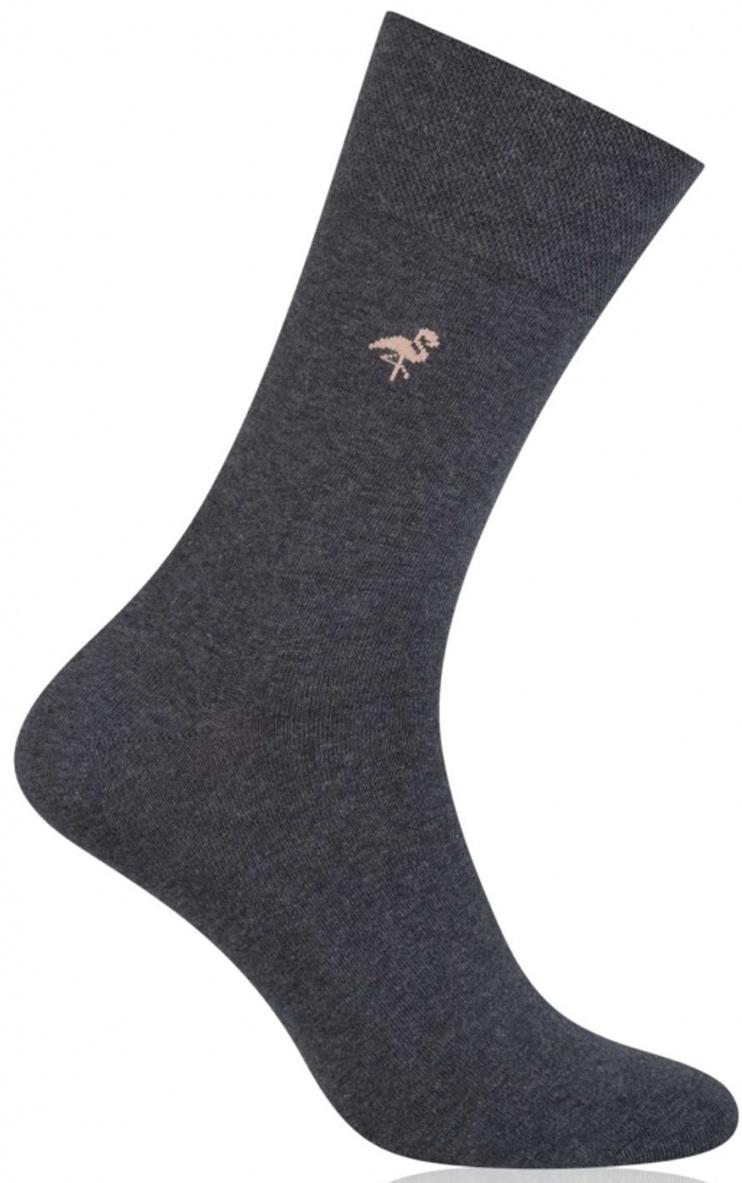 Носки мужские More, цвет: серый. 051 (036). Размер 43/46051 (036)Стильные деловые мужские носки More изготовлены из высококачественного хлопка, они приятны на ощупь, не раздражают кожу, позволяя ей дышать. Модель отлично облегает стопу. Имеют удобную не сдавливающую резинку.Изделие дополнено принтом.