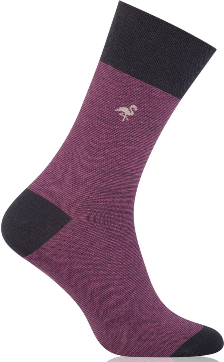 Носки мужские More, цвет: розовый. 051 (005). Размер 39/42051 (005)Стильные деловые мужские носки More изготовлены из высококачественного хлопка, они приятны на ощупь, не раздражают кожу, позволяя ей дышать. Модель отлично облегает стопу. Имеют удобную не сдавливающую резинку.Изделие дополнено принтом.
