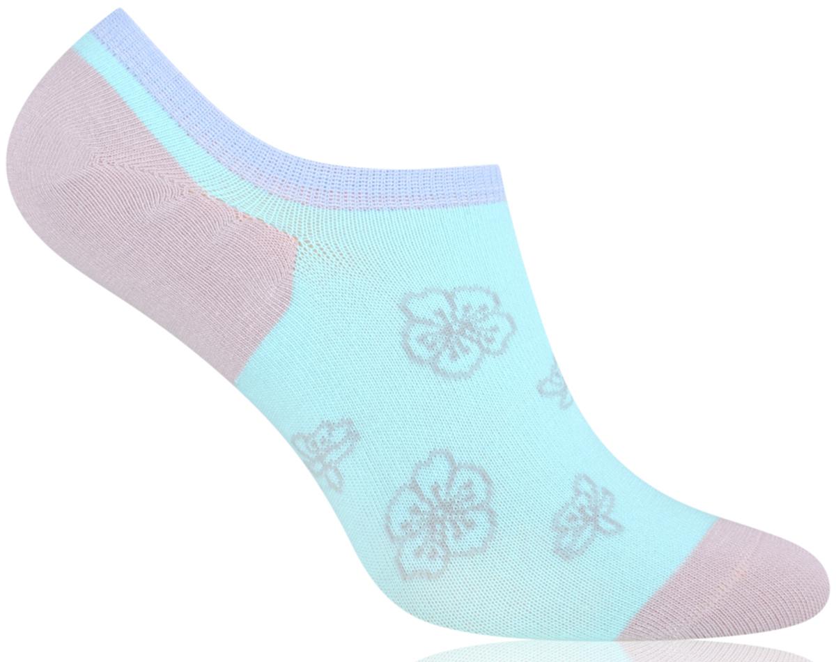Носки женские More, цвет: мятный. 153 (021). Размер 35/38153 (021)Укороченные женские носки More изготовлены из высококачественного хлопка, они приятны на ощупь, не раздражают кожу, позволяя ей дышать. Модель отлично облегает стопу. Изделие дополнено принтом.