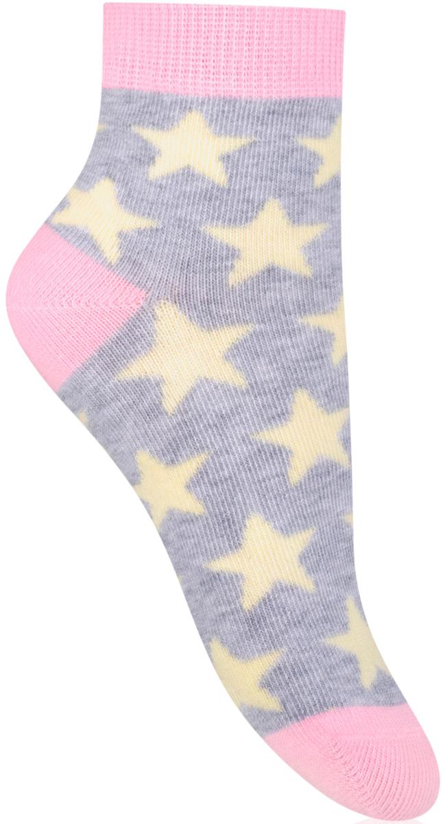 Носки для девочки Steven, цвет: серый, розовый. 004 (RE111). Размер 26/28004 (RF111)/004 (RG111)Носки Steven изготовлены из качественного материала на основе хлопка. Модель имеет мягкую эластичную резинку. Носки хорошо держат форму и обладают повышенной воздухопроницаемостью.