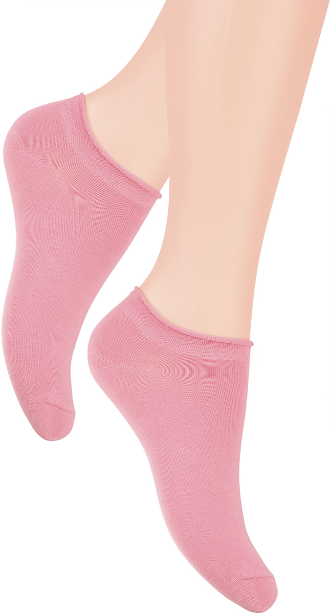 Носки женские Steven, цвет: розовый. 041 (GZ05). Размер 35/37041 (GZ05)/041 (GX05)Носки Steven изготовлены из качественного материала на основе хлопка. Укороченная модель имеет мягкую эластичную резинку. Носки хорошо держат форму и обладают повышенной воздухопроницаемостью.