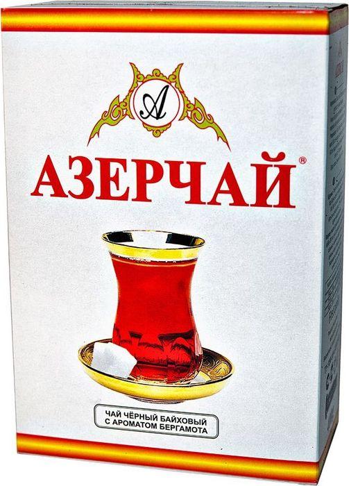 Азерчай чай черный листовой, 100 г4630006820287Черный байховый чай с ароматом бергамота. Хранить в сухом помещении от пахучих веществ, при относительной влажности не более 70%. Способ приготовления: в сухой разогретый чайник добавить чай из расчета 2 чайные ложки на каждые 200 мл воды, залить чайник кипятком и дать настояться 6-7 минут.
