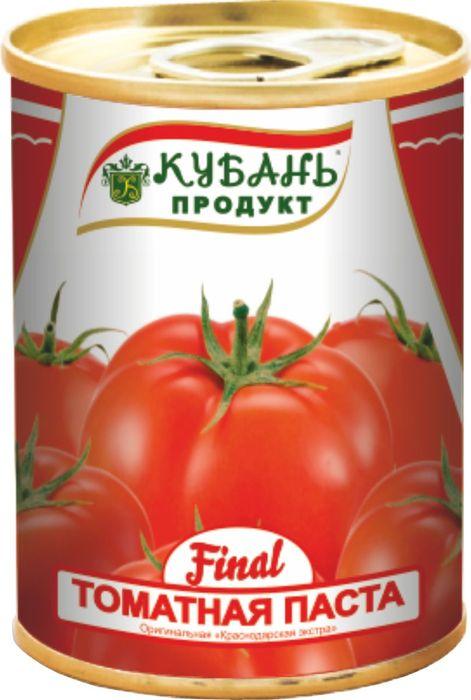 Кубань Продукт паста томатная, 140 г4630006825343Томатная паста Кубань Продукт приготовлена только из отборных российских томатов. Очень густая, с насыщенным цветом и ароматом свежих томатов.