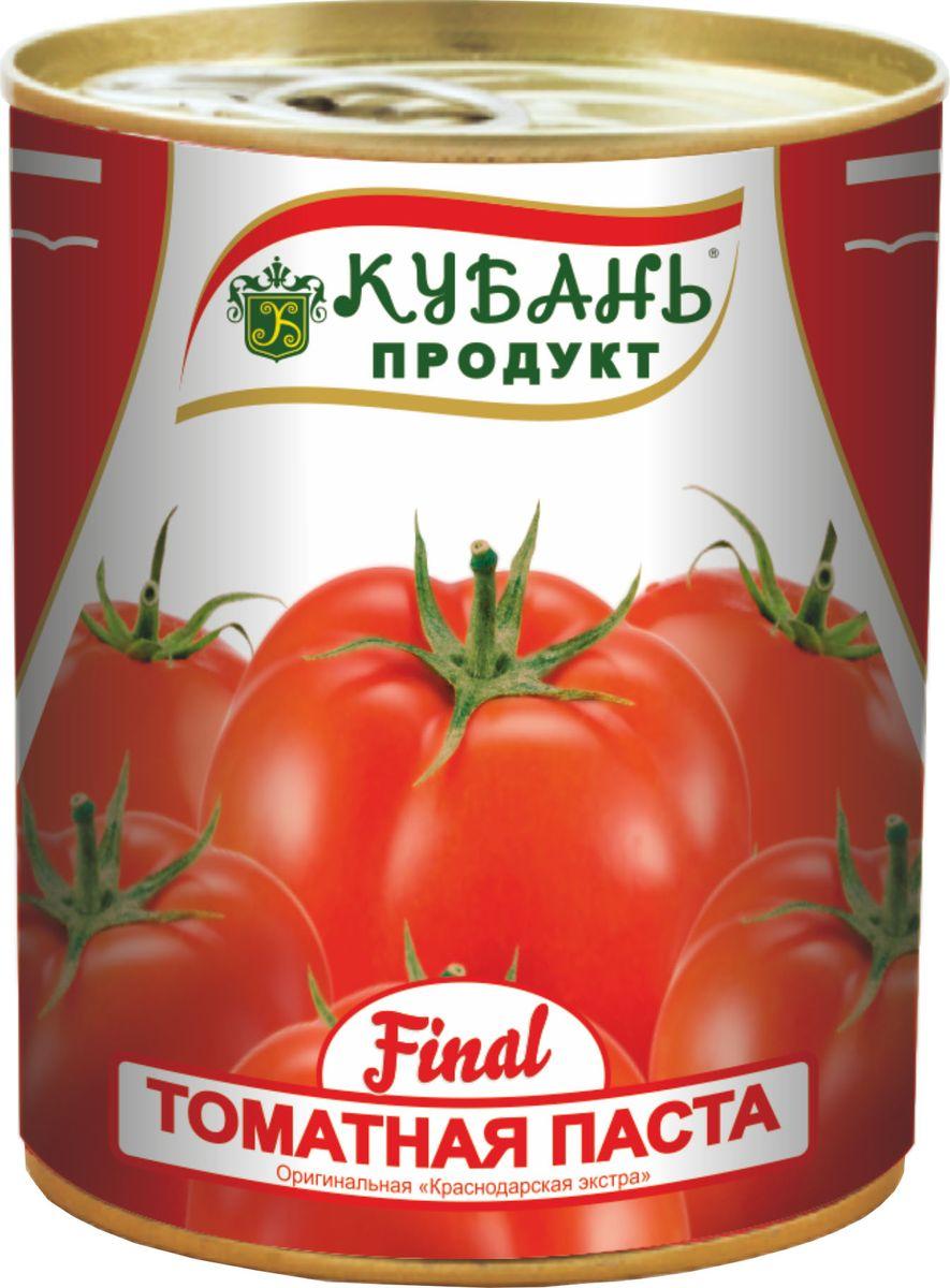 Кубань Продукт паста томатная, 380 г4630006825374Томатная паста Кубань Продукт приготовлена только из отборных российских томатов. Очень густая, с насыщенным цветом и ароматом свежих томатов.