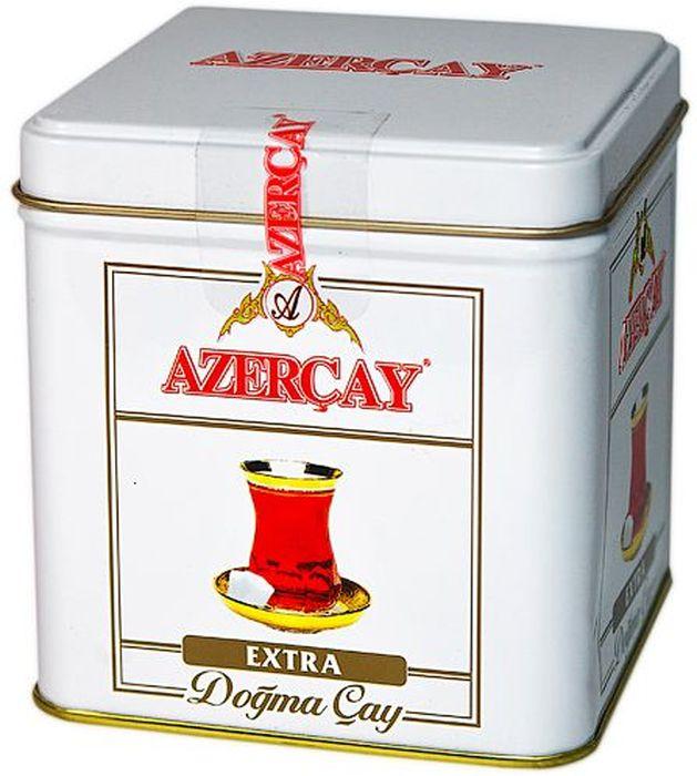 Azercay Extra чай черный листовой, 100 г4760001702056Чай черный байховый высшего сорта. Смесь чаев из регионов Азербайджана Ленкоран и Астара. Способ приготовления: заварить из расчета 1 чайная ложка на чашку. Настаивать 5-6 минут.Всё о чае: сорта, факты, советы по выбору и употреблению. Статья OZON Гид