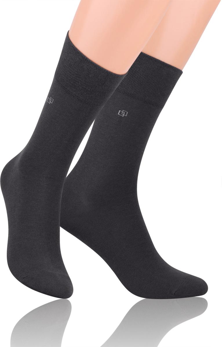 Носки мужские Steven, цвет: темно-серый. 056 (H18). Размер 39/41 носки steven цвет белый 007 ld1 размер 44 46