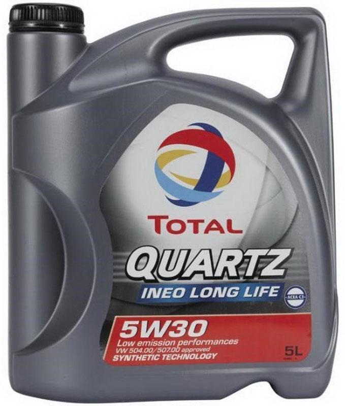 Моторное масло Total Quartz Ineo Long Life 5W-30, 5 л181712Малозольное моторное масло Total Quartz Ineo Long Life 5W-30 нового поколения, разработанное специально для двигателей немецких автопроизводителей. Оптимизирует работу систем доочистки выхлопных газов, в частности, сажевого фильтра. Международные стандарты: Acea C3. Одобрения автопроизводителей: VW 504.00/507.00, BMW LL-04, MB 229.51, Porsche C30.