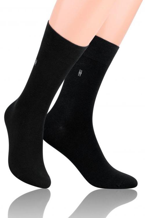Носки мужские Steven, цвет: черный. 056 (I17). Размер 42/44 носки steven цвет белый 007 ld1 размер 44 46