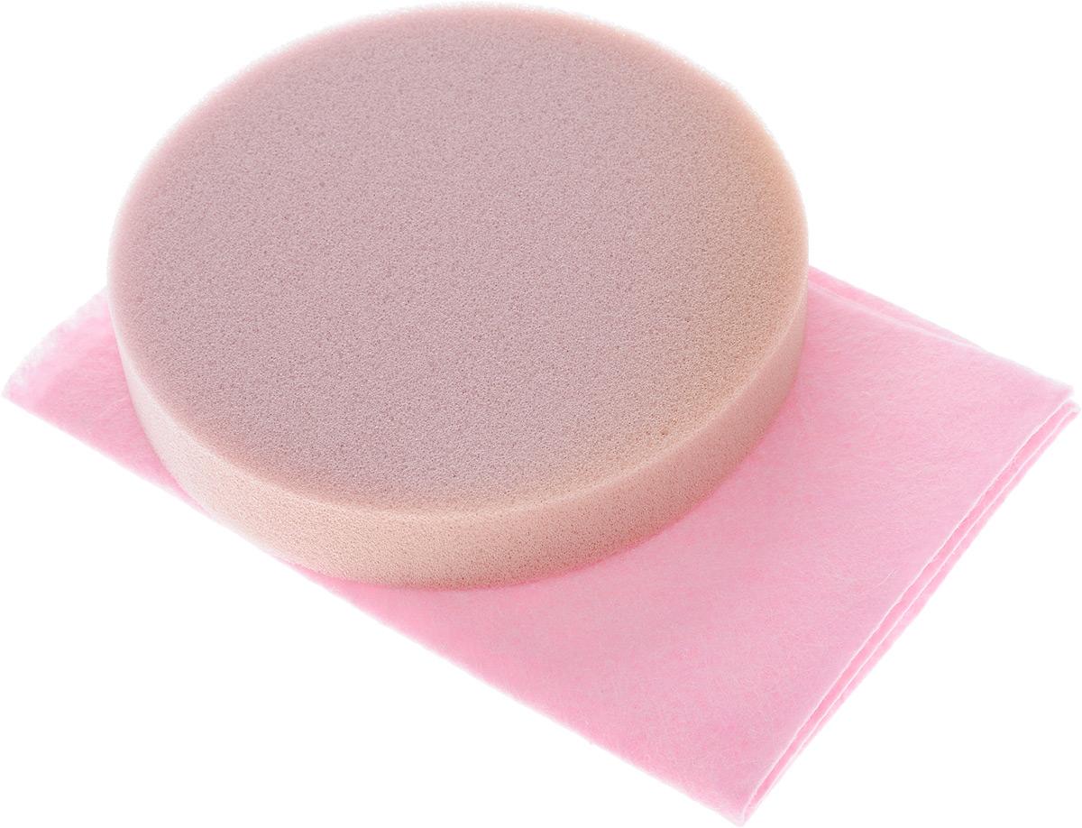 Набор салфеток для полировки автомобиля Runway, цвет: розовый, 2 штRW646_розовыйНабор салфеток для полировки автомобиля Runway состоит из вискозной салфетки и губки. Набор прекрасно полирует автомобиль. Для нанесения полироли используйте вискозную салфетку. Небольшое количество полироли выдавите не салфетку и равномерно нанесите на лакокрасочное покрытие автомобиля. Окончательно располируйте нанесенную полироль губкой. Набор подходит для многократного применения.Размер салфетки: 30 х 30 см.Диаметр губки: 12 см.