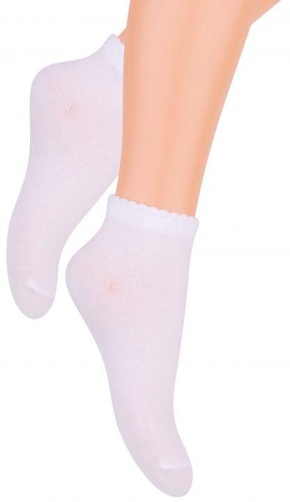 Носки для девочки Steven, цвет: белый. 004 (RE21). Размер 26/28004 (RE21)Носки Steven изготовлены из качественного материала на основе хлопка. Модель имеет мягкую эластичную резинку. Носки хорошо держат форму и обладают повышенной воздухопроницаемостью.