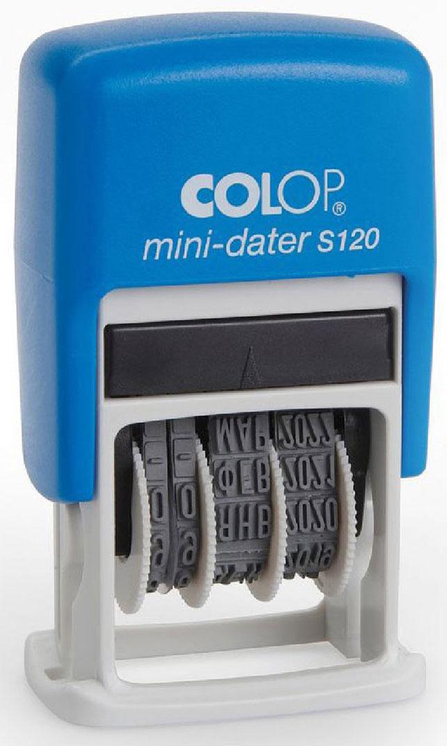 Colop Мини-датер S120 месяц цифрами trodat мини датер printy месяц цифрами