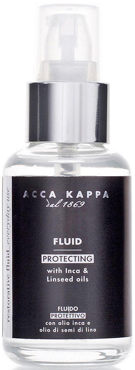 "Acca Kappa Восстанавливающий защитный флюид для волос ""Белый мускус"", 50 мл"