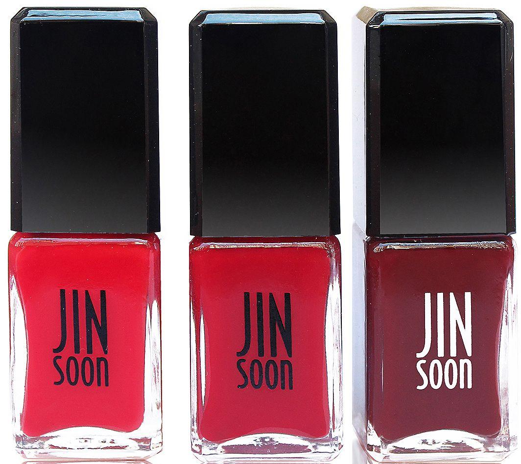 JINsoon Набор лаков для ногтей Classics 2, 3 х 11 млJSS104В набор входит три лака классических оттенков
