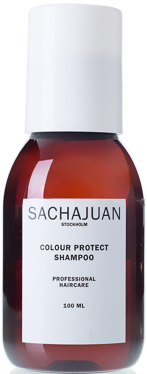 Sachajuan Шампунь для окрашенных волос, 100 млC5637200Шампунь, специально разработанный с применением технологии ocean silk. Содержит различные активные очищающие компоненты и микроэмульсионную технологию для защиты окрашенных волос от вымывания пигмента. Добавляет подвижности и придает волосам шелковистый блеск. Для стойкости цвета используйте на волосах, окрашенных в схожий с натуральным цвет или в более темный тон. Низкая кислотность для защиты окрашенных волос и волос, подвергшихся химическому воздействию. Мягко очищает, сохраняя цвет. Для всех типов волос. Придает блеск и объем.