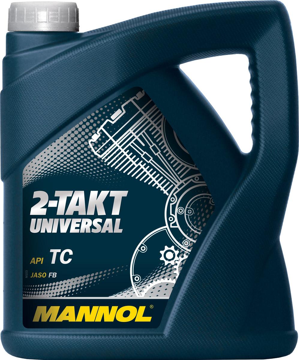 Масло моторное MANNOL 2-Takt Universal, API TC, минеральное, 4 л1427Моторное масло Mannol 2-Takt Universal - высококачественное моторное масло на минеральной основе, разработанное для применения в 2-тактных двигателях с воздушным охлаждением, где используется раздельная система смазки или непосредственное смешение с топливом. Обеспечивает высокие противоизносные свойства. Для выбора правильной концентрации следуйте предписаниям производителей техники. Допуски и соответствия JASO FB, ISO L-EGB.Класс качества по API: TC.Вязкость при 100°C: 9,7 CSt.Вязкость при 40°C: 76,2 CSt.Индекс вязкости: 133.Плотность при 15°C: 887 kg/m3.Температура вспышки COC: 160 °C.Температура застывания: -32 °C.Щелочное число: 1 gKOH/kg.Товар сертифицирован.