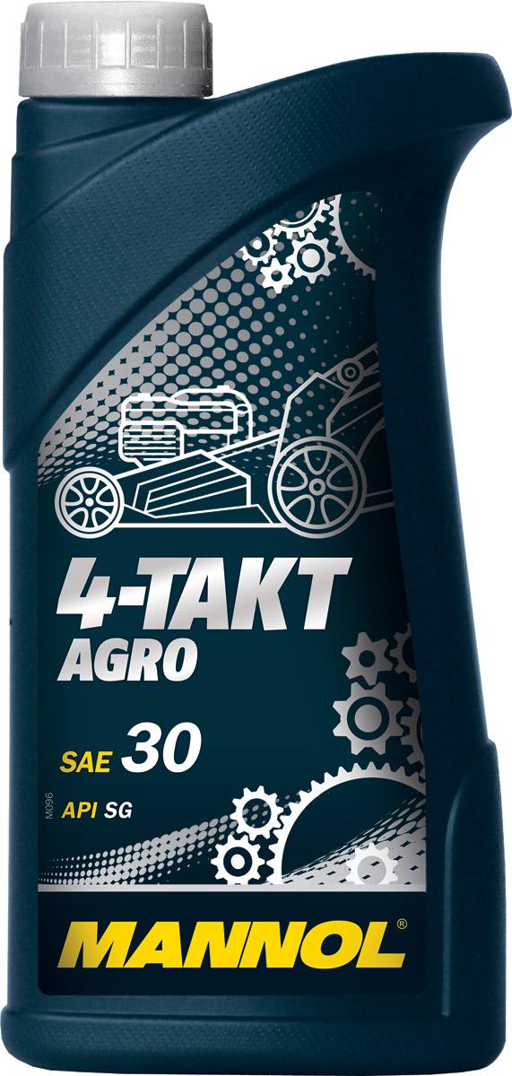 Моторное масло MANNOL 4-Takt Agro, API SG, минеральное, 1 л1440MANNOL 4-Takt Agro – высококачественное моторное масло для 4-тактных двигателей минитракторов, газонокосилок, генераторов, культиваторов, мотопомп и другого садового оборудования с воздушным и жидкостным охлаждением. Специальный пакет присадок обеспечивает высокие смазывающие, противо износные и моющее-диспергирующие свойства, благодаря чему значительно увеличивается моторесурс сельскохозяйственных агрегатов. Совместимо со всеми типами топлива: этилированный и неэтилированный бензин, дизельное топливо. Интервалы замены моторного масла соблюдать в соответствии с предписаниями производителей агрооборудования.