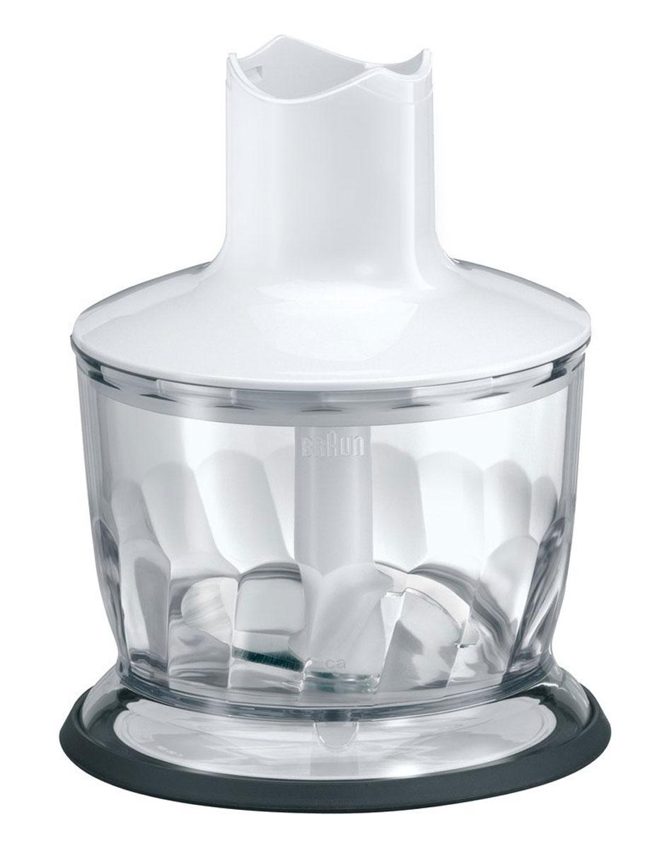 Braun MQ20 Herbal Chopper, White измельчитель-чоппер для блендераMQ20Измельчитель Braun MQ20 совместим со всеми погружными блендерами серии Multiquick 5, 7 и 9 с металлической ногой. Чоппер можно мыть в посудомоечной машине. Измельчитель оснащен нескользящим основанием.