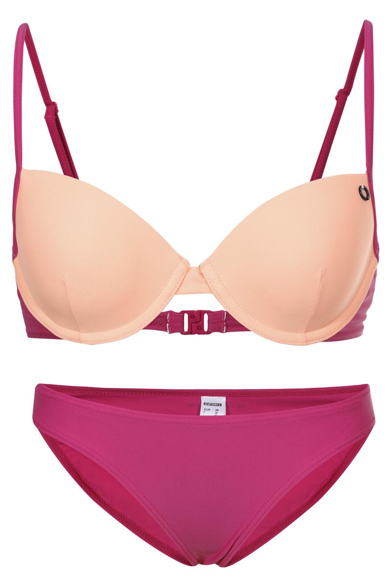 Купальник раздельный Icepeak Jaylin, цвет: розовый, оранжевый. 765000810IVB. Размер 38 (44) купальник раздельный kalais цвет розовый