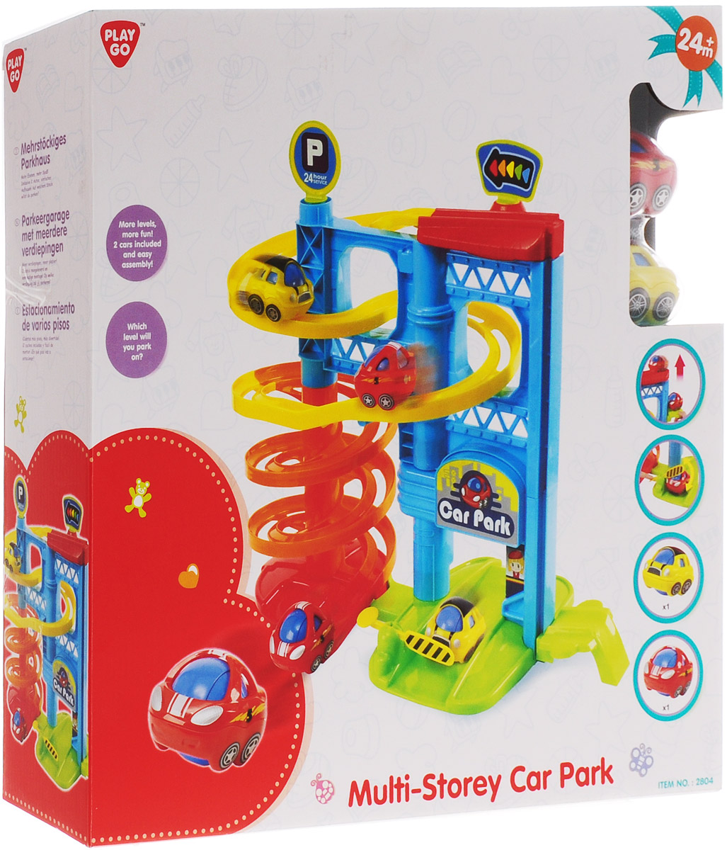 Playgo Игровой набор Многоэтажная парковка playgo игровой набор корзина с выпечкой